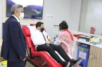 Odunpazarı İlçe Milli Eğitim Müdürlüğü Yöneticilerinden Kan Bağışı