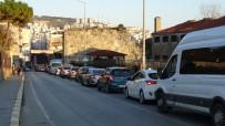 Sinop'ta Trafikte Yılbaşı Yoğunluğu