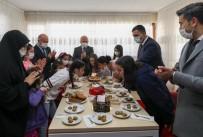 Vali Varol'dan, Çocuk Evleri Sitesinde Kalan Çocuklara Ziyaret
