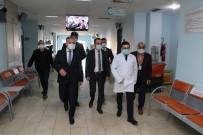 Vali Yardımcısı Dağ, Hastaneyi Ziyaret Etti