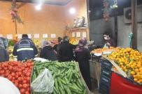 56 Saatlik Kısıtlama Öncesi Gıda Sektöründe Yoğunluk Yaşandı