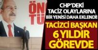HÜSEYIN TEKIN - CHP tacizden hapis yatan Hüseyin Çiçek'i ilçe başkanı yaptı: Tam 6 yıldır görevde