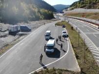 Jandarma Ekipleri Drone Destekli Trafik Denetimi Yaptı