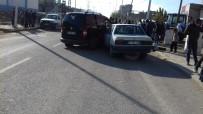 Mardin'de 3 Araç Birbirine Girdi Açıklaması  1 Yaralı