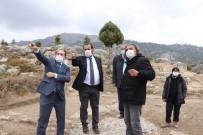 Rektör Akgül, Ermenek'te Devam Eden Arkeolojik Kazıları Yerinde İnceledi