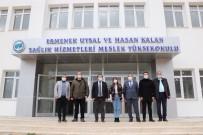 Rektör Akgül, Uysal Ve Hasan Kalan Sağlık Hizmetleri MYO'yu Ziyaret Etti