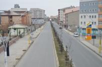 Ağrı'da Sokağa Çıkma Yasağının İlk Gününde Sessizlik Hakim