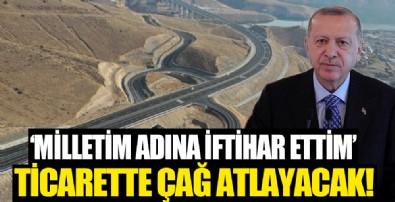 Başkan Erdoğan'dan Sarıkamış-Karakurt-Horasan Yolu Açılış Töreni'nde önemli açıklamalar