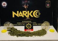 Karaman'da Uyuşturucudan Aranan Zanlı Tutuklandı