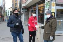 Türk Kızılayı Kısıtlamadan Muaf Olan Personelleri Ve Vatandaşları Unutmadı