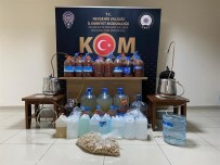 Avanos'ta Sahte Alkol Operasyonu Düzenlendi