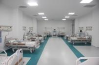Korona Virüsün Zirve Yaptığı Kilis'te Ek Yoğun Bakım Servisi Açıldı