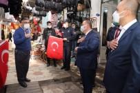 Suriye Sınırında Türk Bayrağı Heyecanı