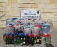 Ürgüp'te 1 Ton 739 Litre Kaçak İçki Ele Geçirildi