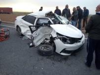 Mardin'de Tır İle Otomobil Çarpıştı Açıklaması 1 Ölü, 2 Yaralı