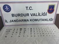 Burdur'da 79 Parça Tarihi Eser Ele Geçirildi
