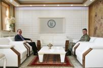 Garnizon Komutanı Tunoğlu'ndan Rektör Coşkun'a Ziyaret