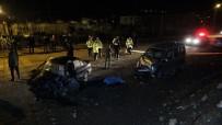 Tokat'ta İki Araç Kafa Kafaya Çarpıştı Açıklaması 1 Ölü, 1 Ağır Yaralı