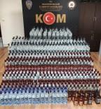 KAÇAK İÇKİ - Balıkesir'de Kaçak İçki Operasyonu