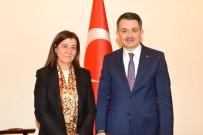 HıZLı TREN - Edirne Milletvekili Aksal'dan, Bakanlara Ziyaret