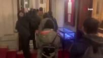 LYON - Fransa'da Eylemciler Siyasetçilerin Gittiği Restoranı Bastı