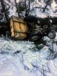 Kastamonu'da Traktör Devrildi Açıklaması 1 Yaralı