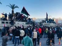 ASKERİ MÜHİMMAT - Libya'da BAE Karşıtı Protesto