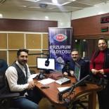 ÖĞRENCİ SAYISI - Rektör Çomaklı TRT Erzurum Radyosunun Canlı Yayın Konuğu Oldu