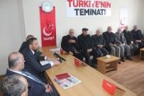 KAMULAŞTIRMA - Saadet Partisi, Çevre Yolu Sorununu Gündeme Aldı