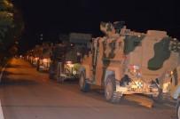 ZEYTIN DALı - Suriye Sınırına Askeri Araç Ve Komando Takviyesi