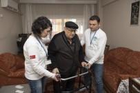 MUSTAFA DOĞAN - Belediye Ekipleri, Yürüme Güçlüğü Çeken Yaşlı Adamın Umudu Oldu