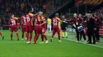 YOUNES BELHANDA - Galatasaray Ligde Seriye Bağladı, Üst Üste 4. Galibiyet