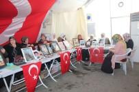 UMUTLU - HDP Önündeki Ailelerin Evlat Nöbeti 153'Üncü Gününde