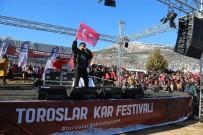 FESTIVAL - Toroslar Kar Festivali'nde Eypio Rüzgarı Esti