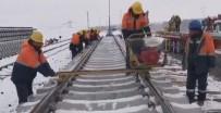 HıZLı TREN - Zorlu Kış Şartlarına Rağmen YHT Çalışmaları Hızla Sürüyor