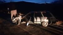 Kastamonu'da Trafik Kazası Açıklaması 1 Yaralı