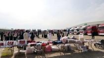 Katar'dan Suriye'ye 50 Tırlık İnsani Yardım