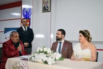 AHMET ŞAHIN - Belediye Başkanı Oğlunun Nikahını Kendisi Kıldı