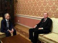 KıRıM - Cumhurbaşkanı Erdoğan, Kırım Tatarlarının Lideri Kırımoğlu'nu Kabul Etti