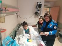 FıRAT ÜNIVERSITESI - Depremzede Hira Nur'a Polislerden Moral Ziyareti