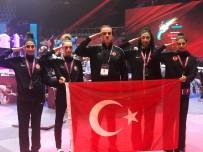 METIN ŞAHIN - Kadın Tekvando Milli Takımı, Dubai'de Şampiyon