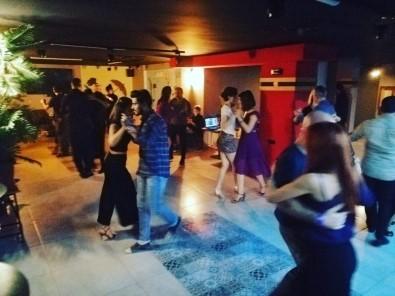 Tango Yaparak Kadına Şiddete 'Hayır' Dediler