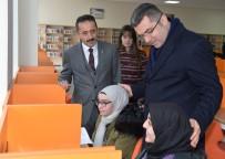 SİNEMA SALONU - Türkiye'nin En Büyük Kütüphanesi Erzurum'da Hizmete Açıldı