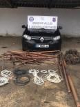 Jandarma Ekipleri Bakır Hırsızlarını Suçüstü Yakaladı