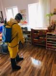 Ayvacık'ta Okullar İlaçlanıyor