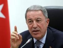ALPASLAN KAVAKLIOĞLU - Milli Savunma Bakanı Akar'dan koronavirüs açıklaması