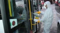 Emirdağ'da Dezenfekte Çalışmaları Sürüyor