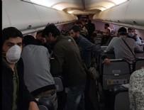 YOLCU UÇAĞI - Bağdat'tan Ankara Esenboğa Havalimanı'na gelen uçaktaki 57 kişi karantinaya alındı