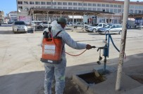 Çifteler Belediyesi Tarafından Dezenfeksiyon Çalışmaları Devam Ediyor