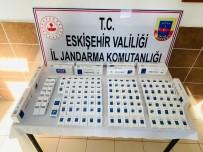Eskişehir'de 150 Paket Kaçak Sigara Ele Geçirildi